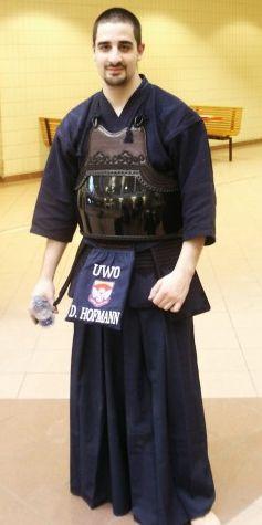 Hofmann in Kendo armor