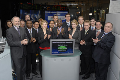 SIF Students at the January 2010 TSX opening