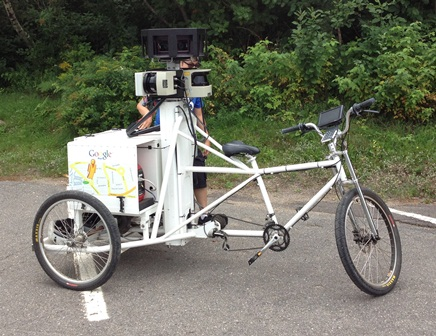 Google's Street View Tricycle