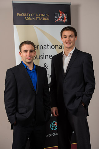 Nathan and Greg Armstrong, creators of the waste-water management company CeteX.
