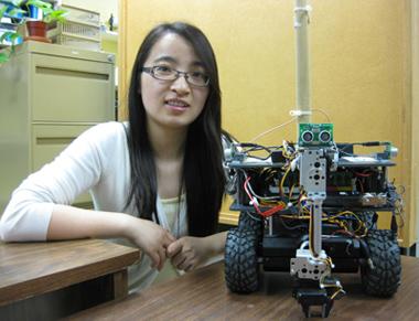 PhD student Hui Tang