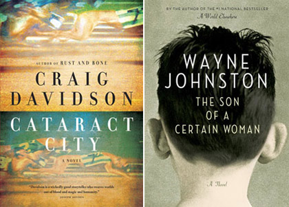 Craig Davidson (MA'03) and Wayne Johnston (MA'85, DLitt'03) made the Scotiabank Giller Prize ($50,000) longlist.