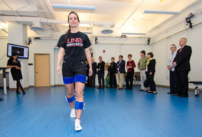 State-of-the-art technology at UNB's Andrew and Marjorie McCain Human Performance Lab is helping researchers and health care professionals empower patients with cerebral palsy.