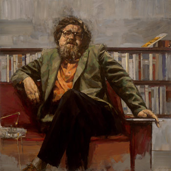 Photo credit: A painting of critically acclaimed Canadian poet, novelist and playwright Alden Nowlan by Stephen Scott.