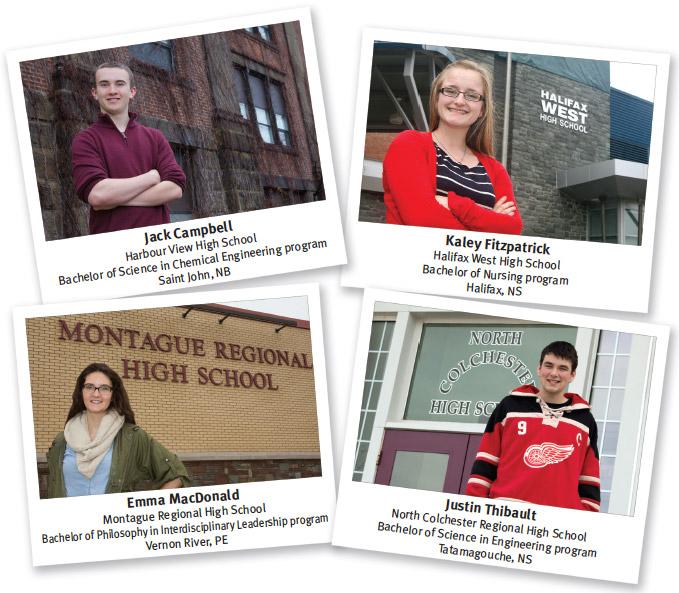 2014 Currie Scholars