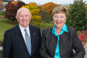 John and Judy Bragg give $500,000 to support aboriginal higher education.