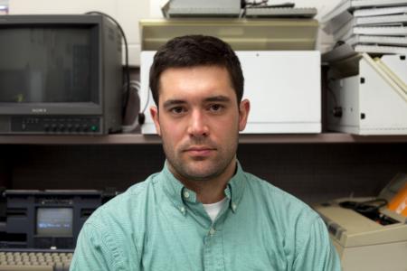 Dr. Henry Svec is UNB's 2014-15 media artist-in-residence