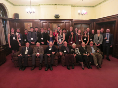 Past and Present scholars meet at annual UNB Beaverbrook Scholars reception