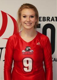 Katherine Houser--Women's Volleyball