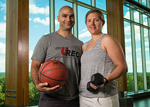 Dr. Martin Sénéchal and Dr. Danielle Bouchard - faculty of kinesiology
