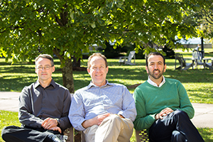 Left to right: Dale Roach, David Creelman & Emin Civi