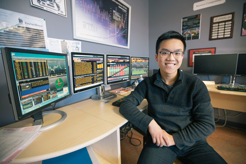 Tuan Anh Bui, fourth-year business administration student
