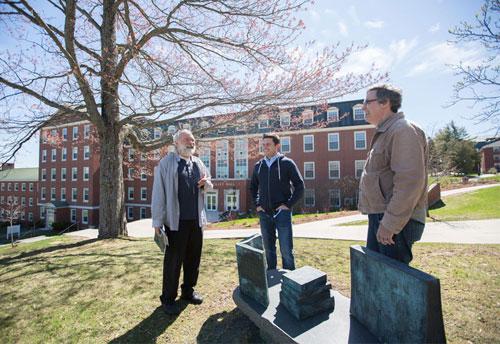 Mark Jarman, Robert Gray and Phillip Crymble, 2016 East Coast Literary Awards finalists.