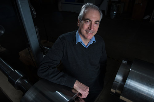 John Spray received $425,000 over five years to support his research. Credit: UNB Media Services