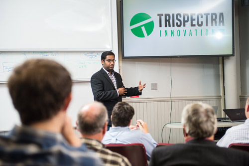 Emmanuel Albert is co-founder and CEO of Trispectra Innovation
