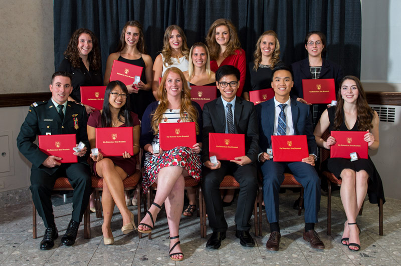 2016 Sir Howard Douglas scholars