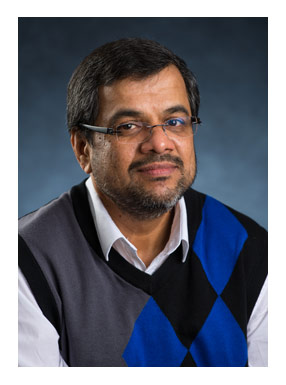 Dr. P. Thayyil Jayachandran, chair of the physics department at the University of New Brunswick and lead for UNB's Canadian High Arctic Ionospheric Network